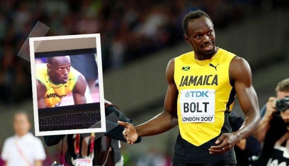 Usain Bolt: se animó al #OpenDoorChallenge, el efecto visual que sorprende