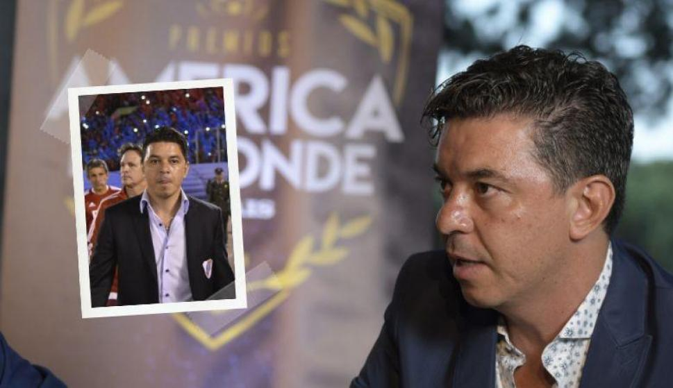 El preciado objeto de Marcelo Gallardo que subastarán por una acción solidaria. Fotos: Archivo El País