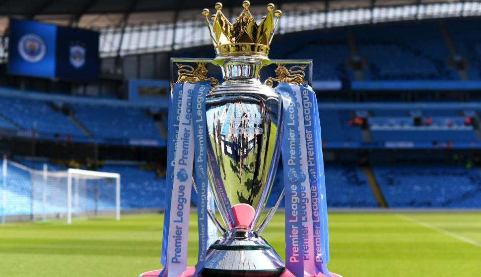 El trofeo de la Premier League. Foto: EFE.