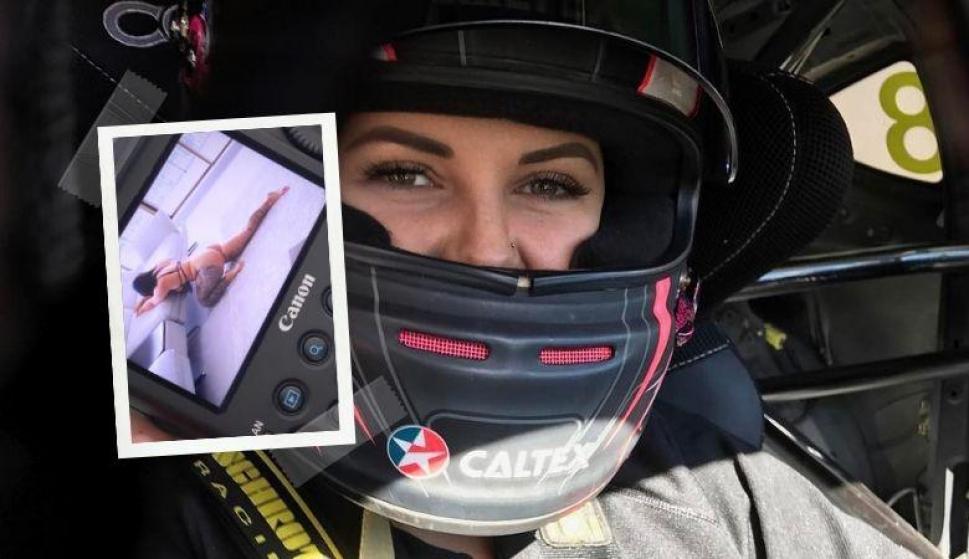 """""""Princesa del Diablo"""": la piloto australiana que cambió el automovilismo por el porno. Fotos: Instagram"""