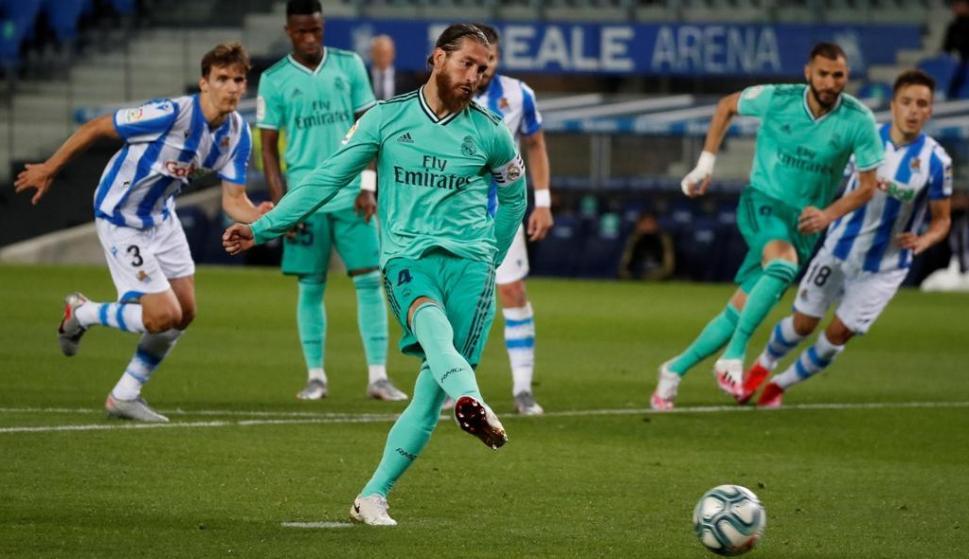 Sergio Ramos. Foto: EFE.