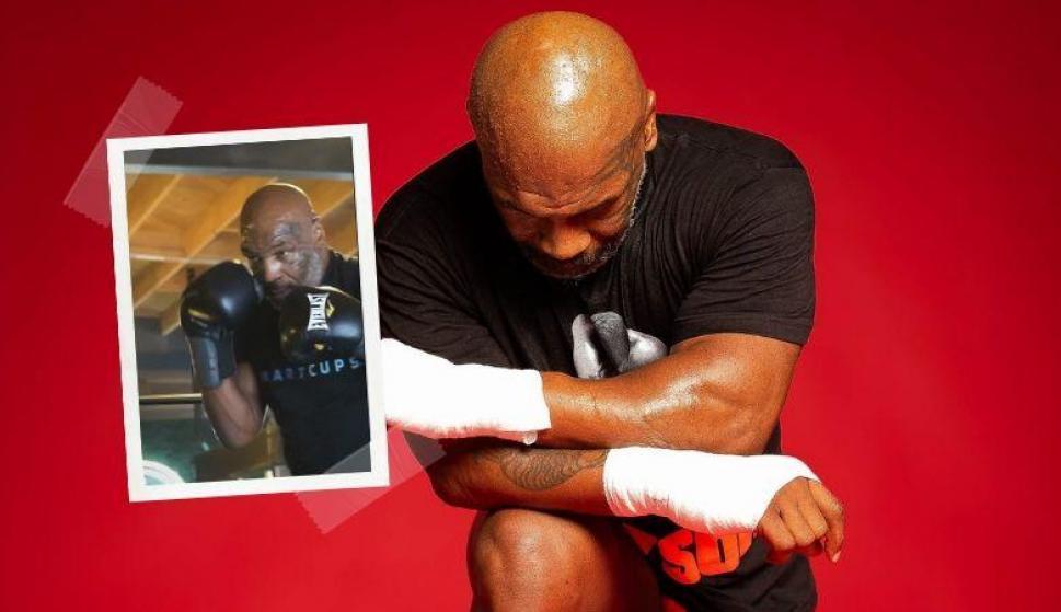 ¡Impresionante! A sus 53 años Mike Tyson mete miedo en el entrenamiento. Fotos. @miketyson