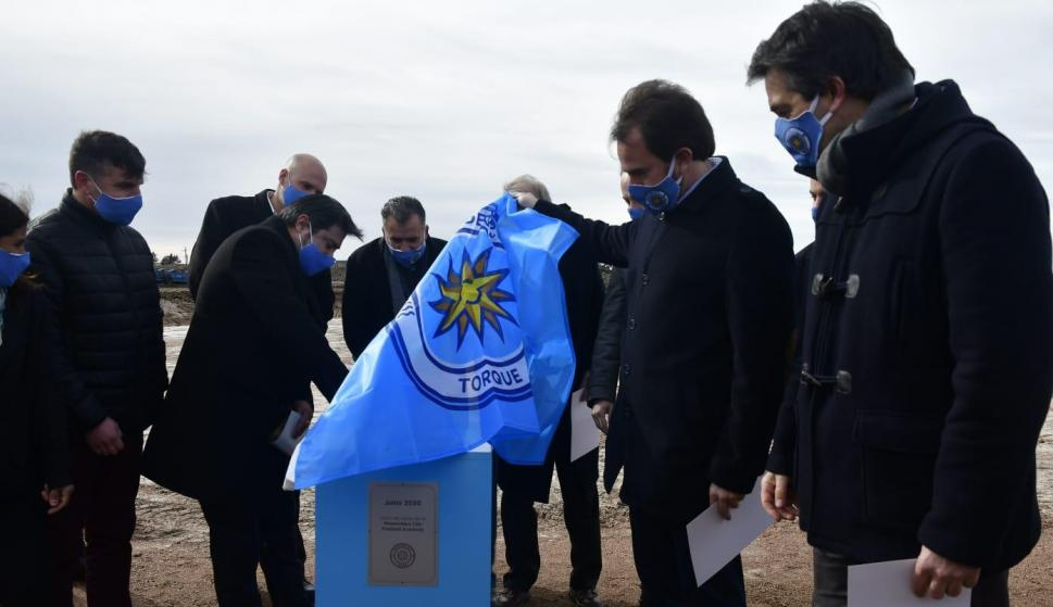 Montevideo City Torque presentó las obras de la Montevideo City Football Academy. Foto: Fernando Ponzetto.