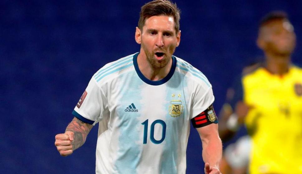 Argentina 1-Ecuador 0: Lionel Messi le dio el triunfo a su selección con un  gol de penal - Ovación - 08/10/2020 - EL PAÍS Uruguay