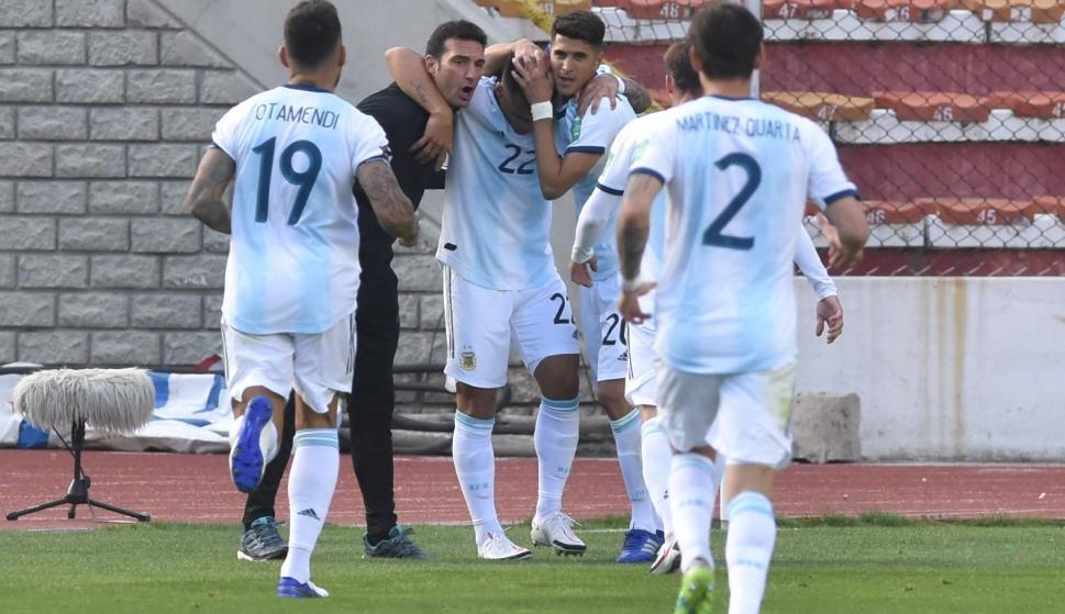 Bolivia 1-Argentina 2: el equipo de Lionel Scaloni y un arranque ideal de  Eliminatorias - Ovación - 13/10/2020 - EL PAÍS Uruguay