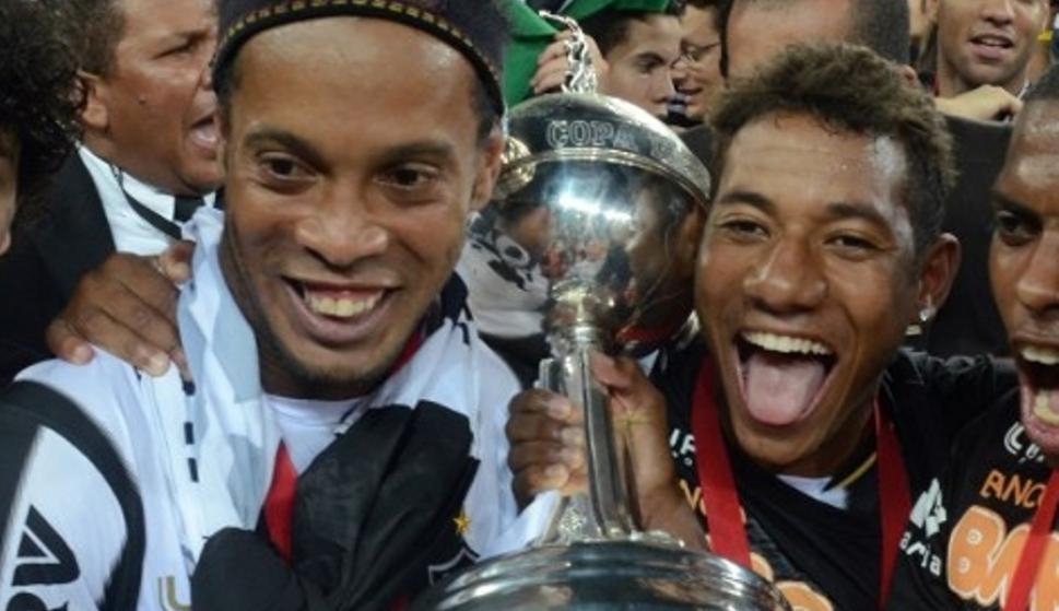 Crack. Ronaldinho fue campeón de la Libertadores con Mineiro.