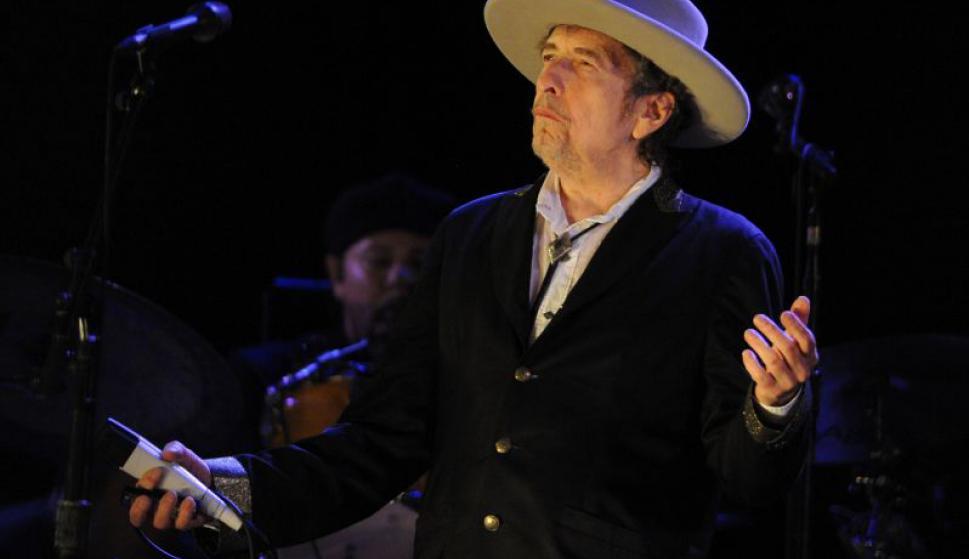 Bob Dylan, ganador del premio Nobel de Literatura 2016. Foto: AFP.