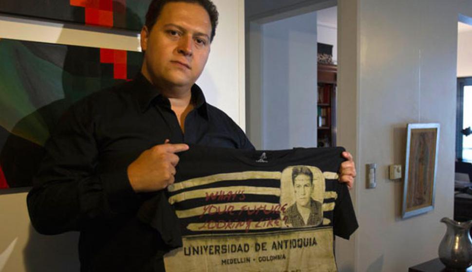 Juan Pablo Escobar. Foto: Archivo El País