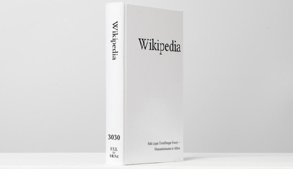 Te Imaginás La Enciclopedia Wikipedia Impresa En Papel Vida