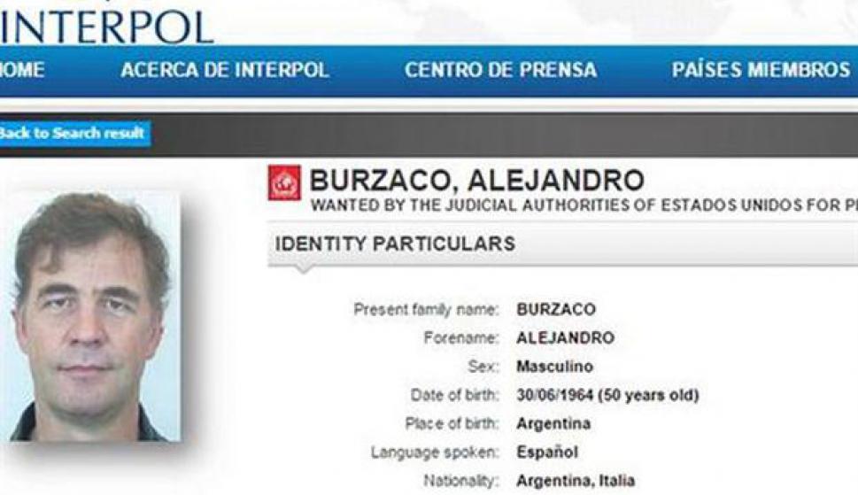 Dan prisión domiciliaria a Burzaco, el empresario argentino que se entregó