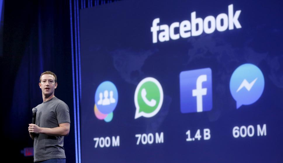 Zuckerberg. Su compañía crece con el impulso de los móviles. (Foto: Reuters)