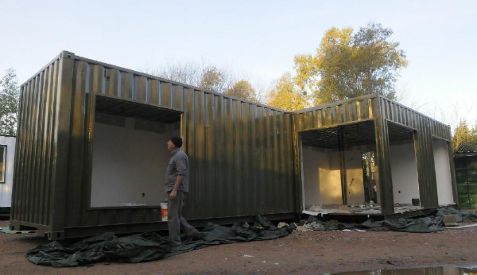 hogar nuevo hogar adis al ladrillo by el pais estructuras de acero paneles y casas contenedor cada vez ms uruguayos prefieren modernos sistemas de - Casas Con Contenedores