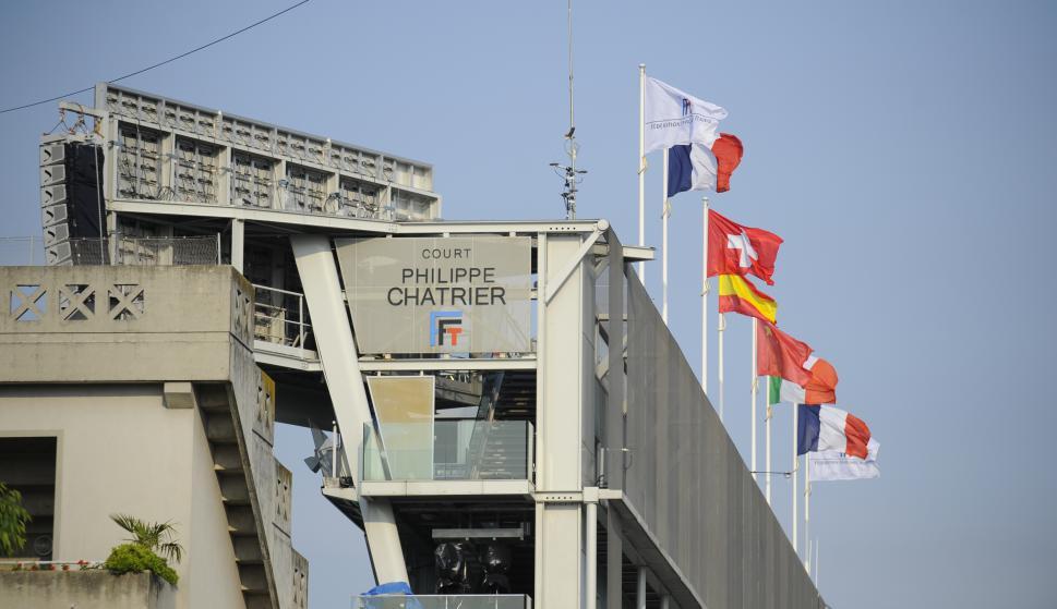 Todo listo para el arranque en Roland Garros