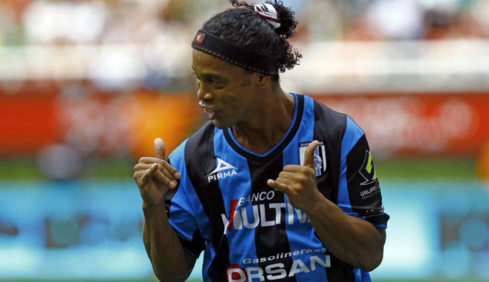 Ronaldinho. Foto: AFP