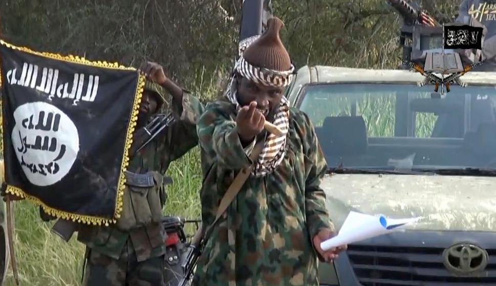 Abubakar Shekau, líder de Boko Haram. Foto: AFP
