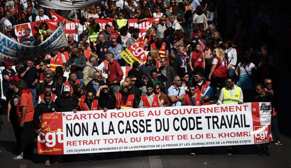El desempleo en Francia afecta al 9,5% de la población. Foto: AFP.