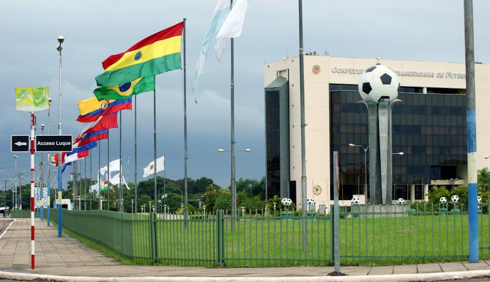 Sede de la Conmebol en Luque, Paraguay. Foto: Pixabay