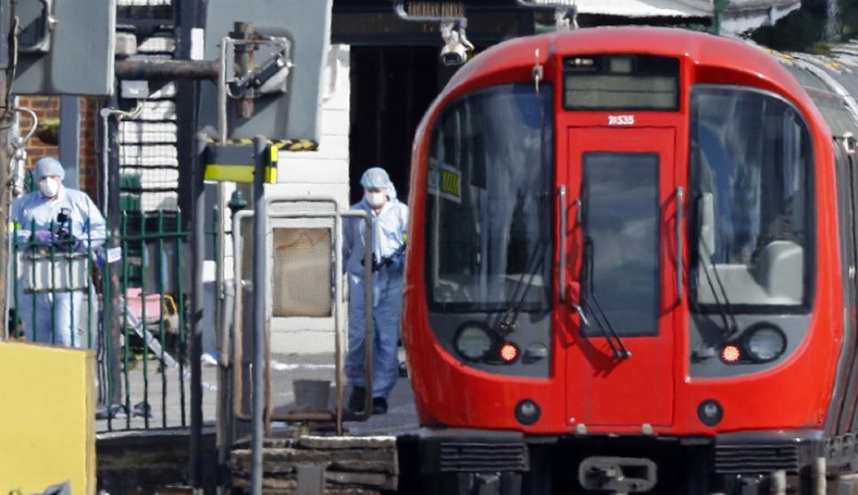 Los heridos sufrieron quemaduras o golpes al intentar salir de la estación. Foto: AFP