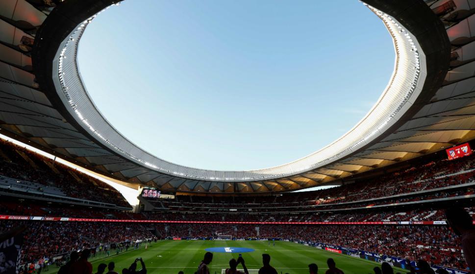 Así es el nuevo estadio Wanda Metropolitano del Atlético de Madrid. Fotos: AFP y Reuters