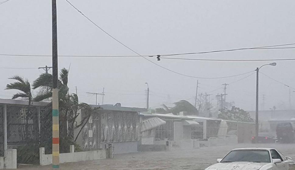 Destrozozs provocados por el huracán María en Puerto Rico. Foto: Reuters.