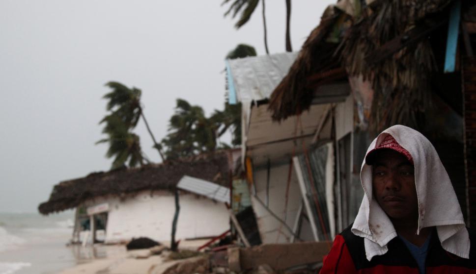 Al menos 1.286 viviendas sufrieron daños. Foto: Reuters