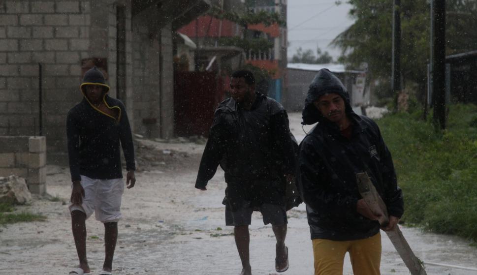 El gobierno de República Dominicana suspendió preventivamente la jornada laboral. Foto: Reuters