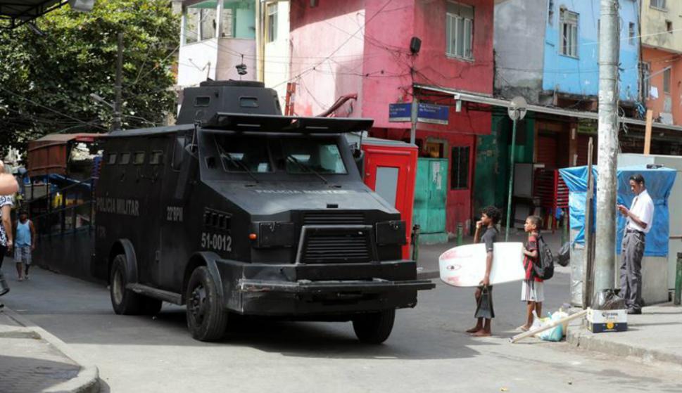 Otras favelas de Rio registraban también tiroteos este viernes.. Foto: AFP