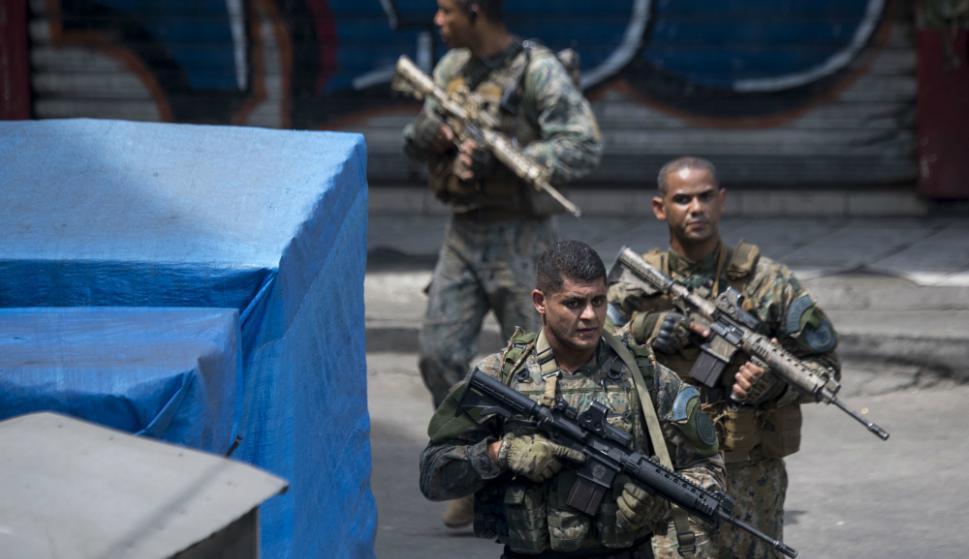 La violencia ha recrudecido en los últimos meses en Rio de Janeiro. Foto: AFP