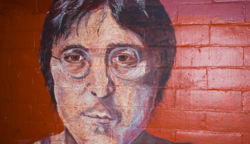 John Lennon. Foto: @GraffitiHallofShame
