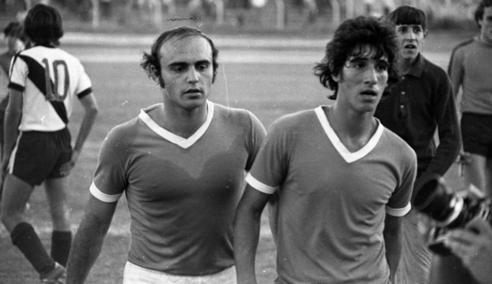 """Alberto Santelli y el """"Pichu"""" Rodolfo Rodríguez"""