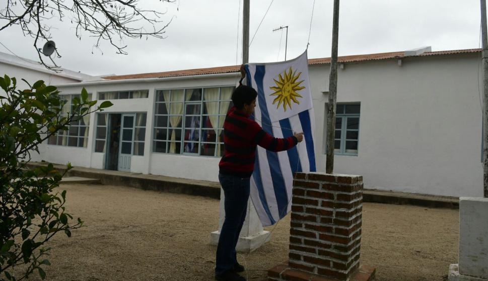 Esta es la escuela en la que hacen en Consejo de Ministros. Foto: Fernando Ponzetto