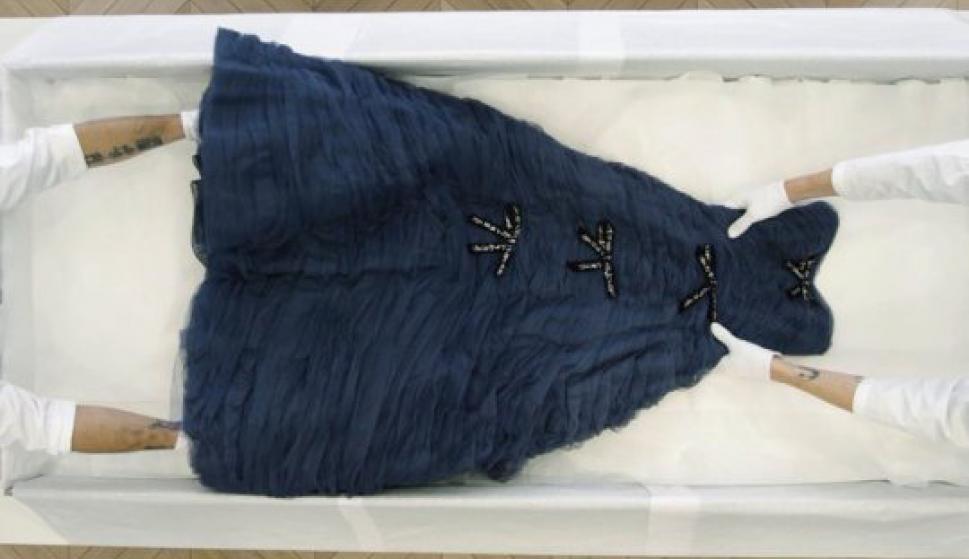 Vestido de Christian Dior