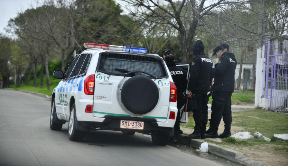 Calma: la presencia de la Policía llevó paz a un barrio sitiado. Foto: Gerardo Pérez