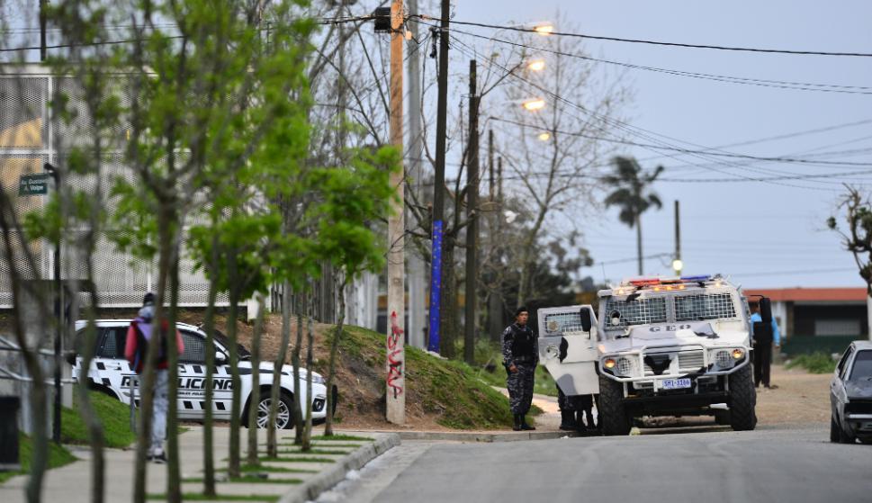 Un operativo a cargo de la Guardia Republicana y otro grupos policiales logró contener un enfrentamiento entre bandas. Foto: Gerardo Pérez