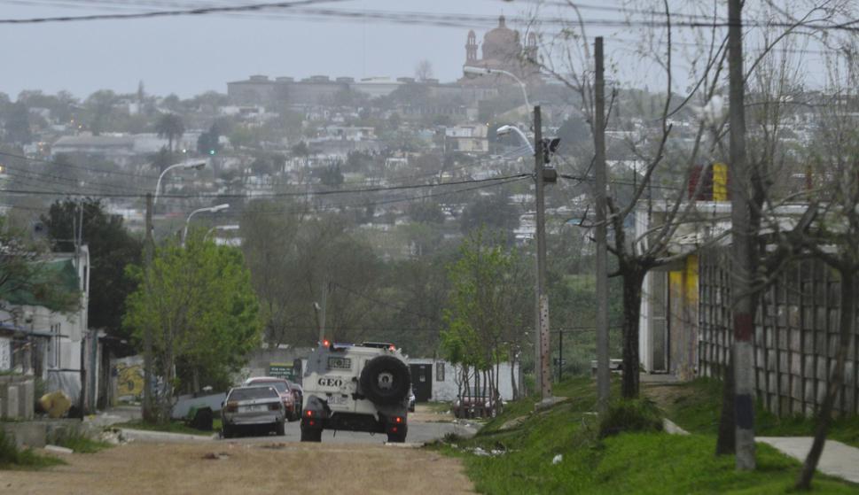 Durante el operativo de la tarde se detuvieron a tres personas. Foto: G. Pérez