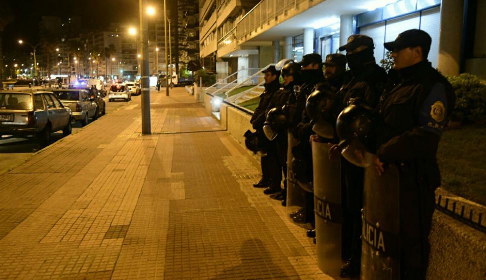 El ministro del Interior, Eduardo Bonomi, había anunciado que habrá cámaras en la zona. Foto: Marcelo Bonjour