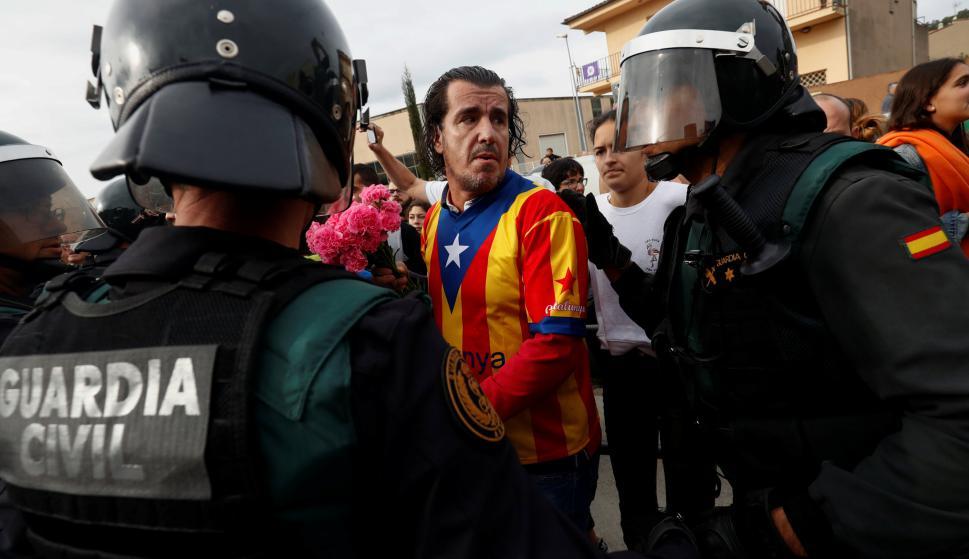 Hay varios heridos tras los enfrentamientos. Foto: Reuters