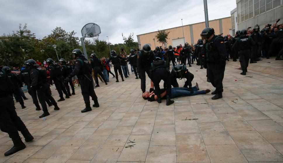 Reportaron varios heridos. Foto: Reuters