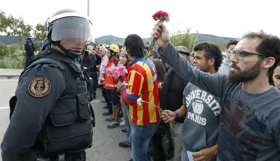 Referéndum catalán. Foto: EFE