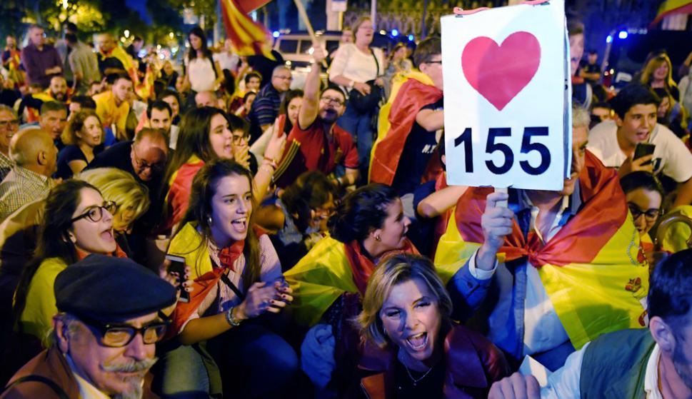 El próximo lunes Puigdemont deberá comparecer ante el Parlamento catalán. Foto: AFP