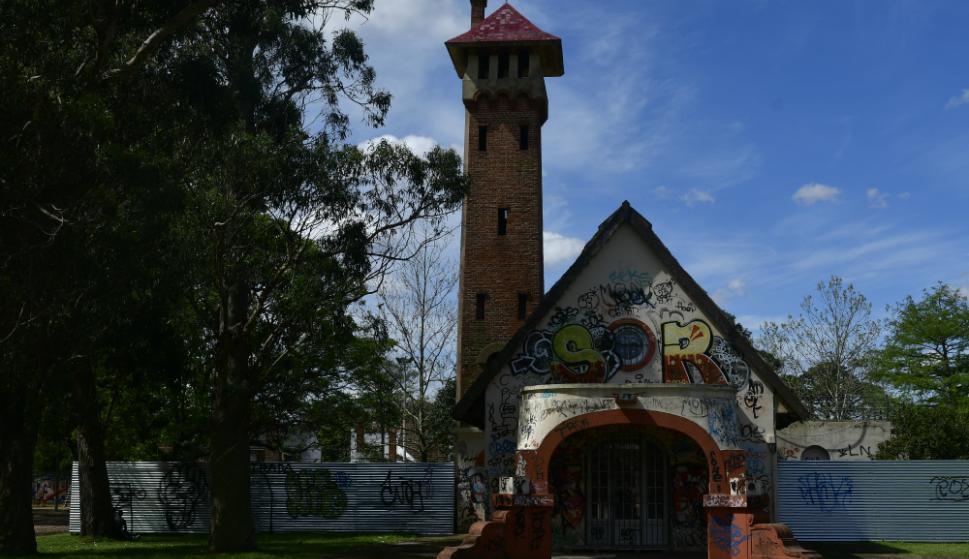 Construida en 1922 para el expendio de leche y productos lácteos. Foto: F. Ponzetto