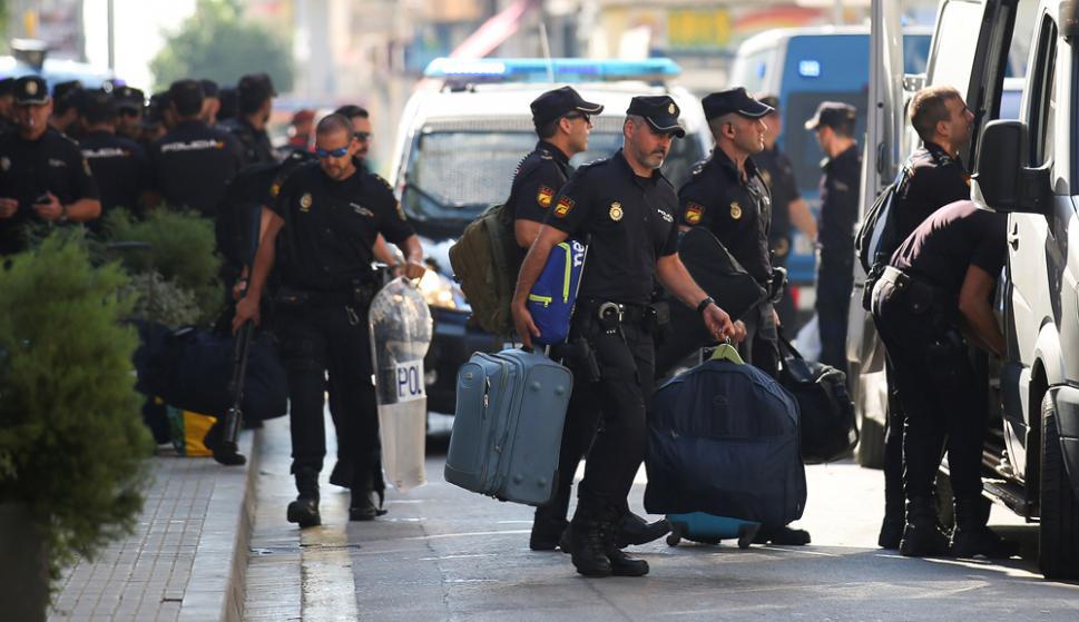 Ayer jueves el Tribunal Constitucional suspendió la sesión del Parlamento catalán. Foto: Reuters