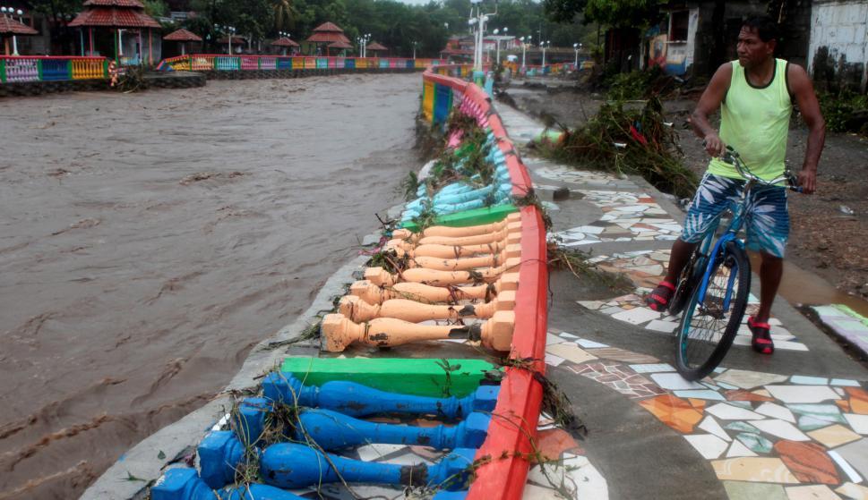 Tormenta Nate afecta Centroamérica. Foto: Reuters