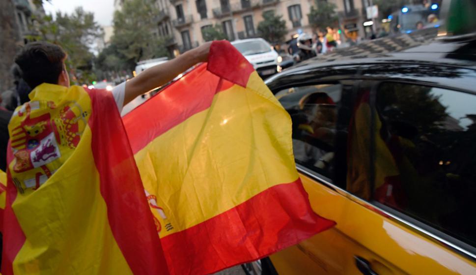 Barcelona: en las calles siguen las manifestaciones. Foto: AFP