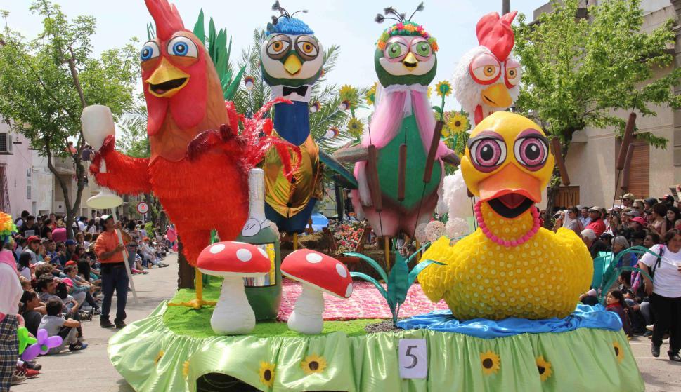 Fiesta de la Primavera en Dolores. Foto: Daniel Rojas