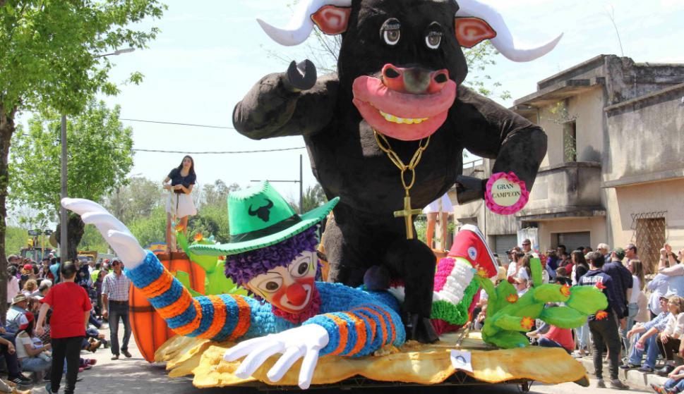 Fiesta Nacional de la Primavera en Dolores. Foto: Daniel Rojas