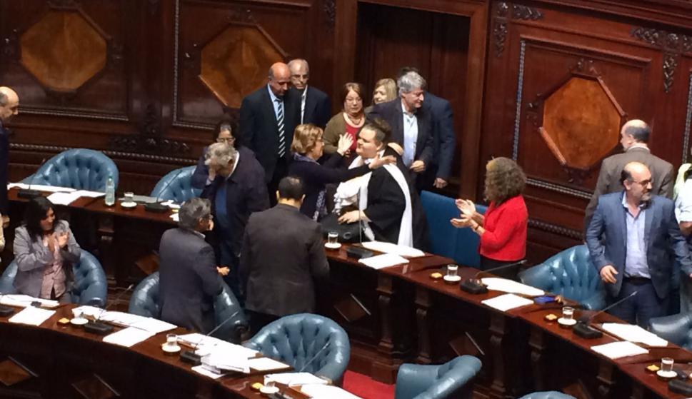 Cámara de Senadores.  Foto: Bruno Scelza