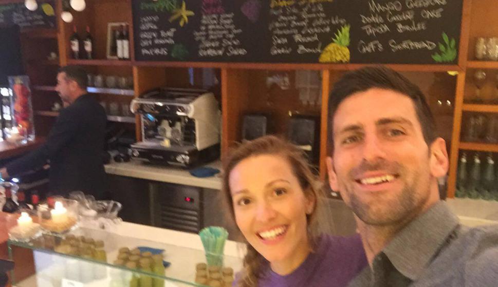 El restaurante que abrió Novak Djokovic en Montecarlo en 2013. Fotos: djokovic.official / Facebook