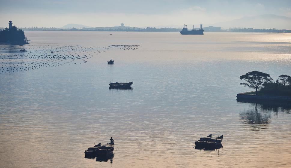 La bahía de Wonsan. Foto: Reuters