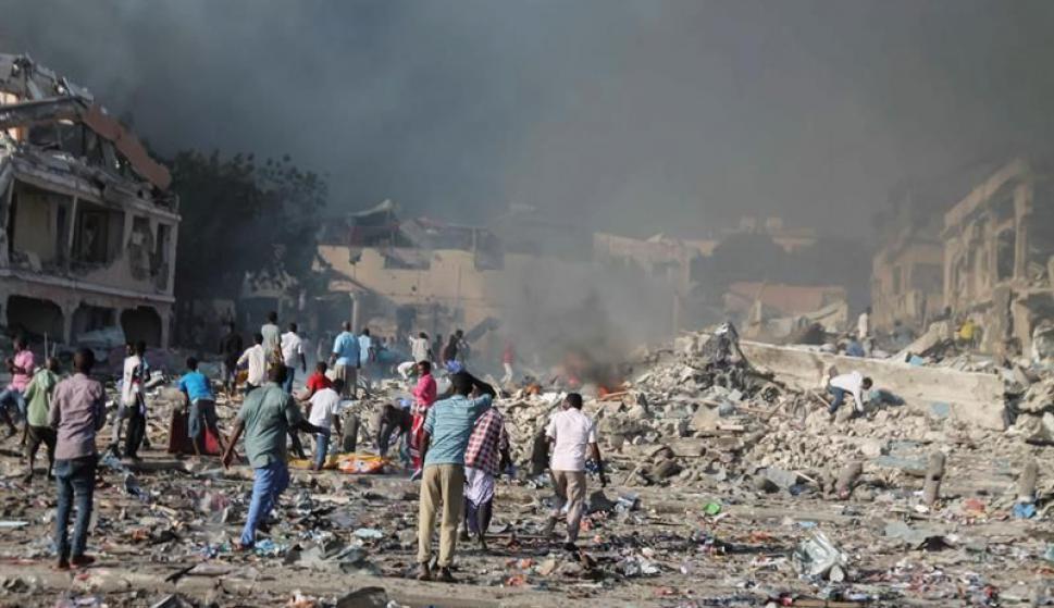 Atentado en Somalia. Foto: EFE